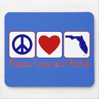 Peace Love Florida Mouse Pad