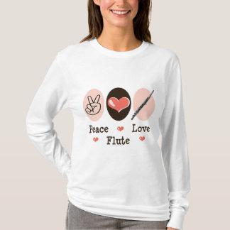 Peace Love Flute Hoodie