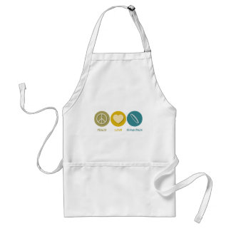 Peace Love Flying Discs Aprons