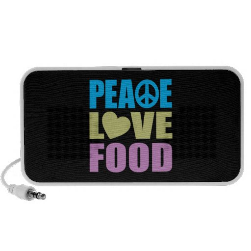 Peace Love Food Travel Speakers