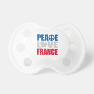 Peace Love France BooginHead Pacifier