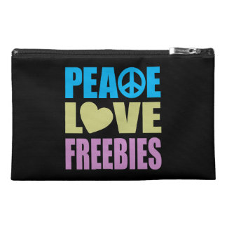 Peace Love Freebies Travel Accessories Bags