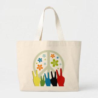 Peace Love Freedom Tote Bag