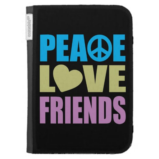 Peace Love Friends Cases For Kindle