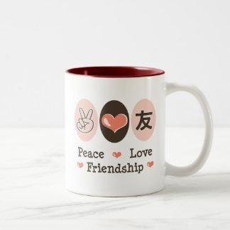 Peace Love Friendship Mug