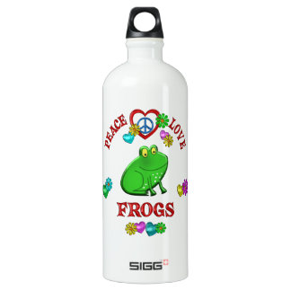 Peace Love Frogs SIGG Traveler 1.0L Water Bottle