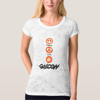 Peace, Love, Galcon T-Shirt