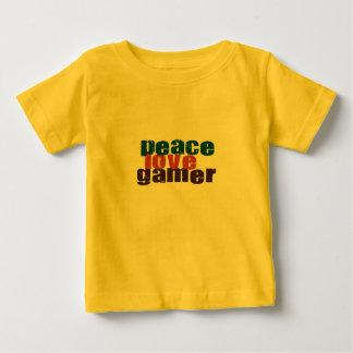 Peace Love Gamer Baby T-Shirt
