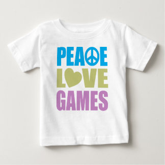Peace Love Games Baby T-Shirt