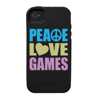 Peace Love Games Case-Mate iPhone 4 Cover