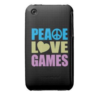 Peace Love Games iPhone 3 Case-Mate Case