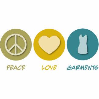 Peace Love Garments Acrylic Cut Out