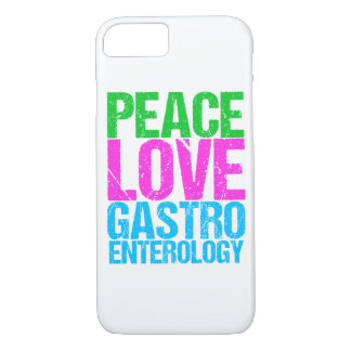 Peace Love Gastroenterology iPhone 8/7 Case