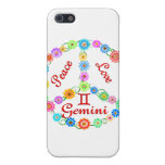 Peace Love Gemini Cover For iPhone 5