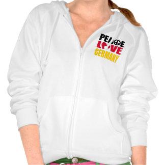 Peace Love Germany Sweatshirt