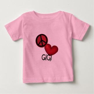 Peace Love Gigi T-shirt