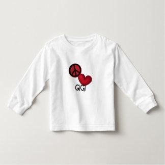Peace Love Gigi T Shirt