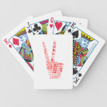 Peace & Love - Give peace a chance Deck Of Cards