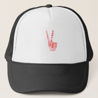 Peace & Love - Give peace a chance Trucker Hat