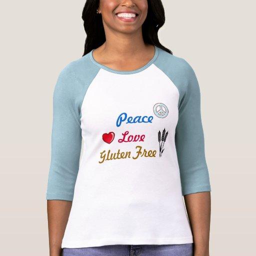 Peace Love Gluten Free Tee Shirt