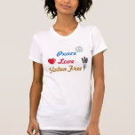 Peace Love Gluten Free Tshirt