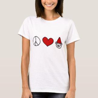 Peace Love Gnome T-Shirt