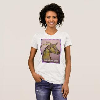 peace love goat T-Shirt