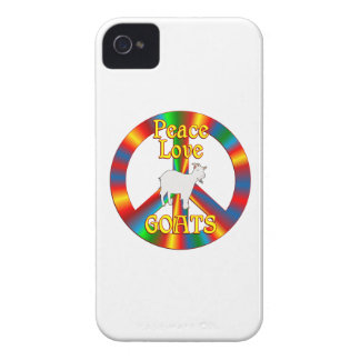 Peace Love Goats iPhone 4 Covers