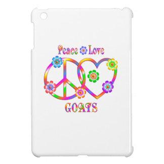 Peace Love Goats iPad Mini Cases