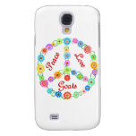 Peace Love Goats Samsung Galaxy S4 Covers