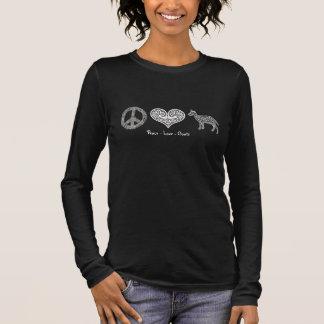 Peace - Love - Goats Women's Long Sleeve T-Shirt