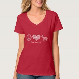 Peace - Love - Goats Women's T-Shirt