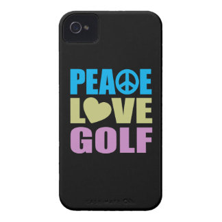 Peace Love Golf iPhone 4 Cover