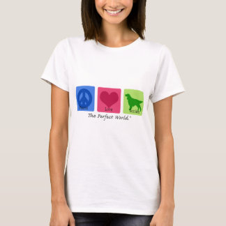 Peace Love Gordon Setter T-Shirt