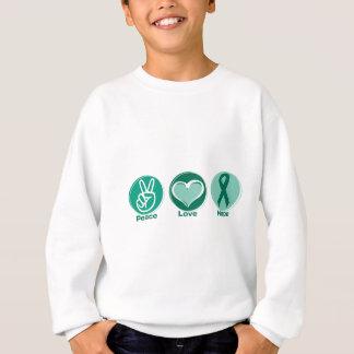 Peace Love Green Hope Sweatshirt