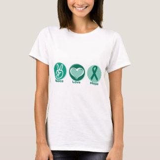 Peace Love Green Hope T-Shirt