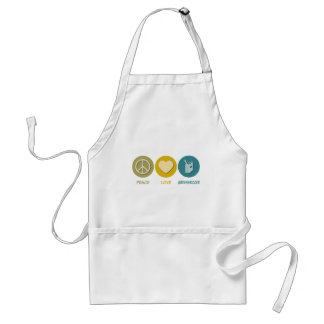 Peace Love Greengrocer Apron