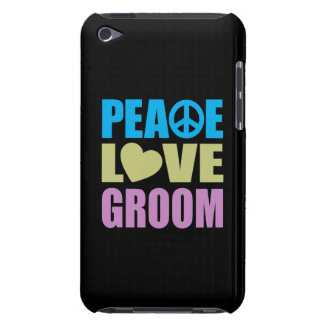 Peace Love Groom iPod Touch Cases