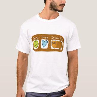 peace, love, guinea pigs 2 T-Shirt