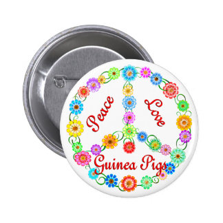 Peace Love Guinea Pigs Pin