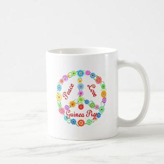 Peace Love Guinea Pigs Coffee Mug