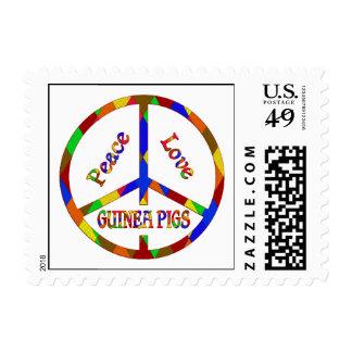 Peace Love Guinea Pigs Postage