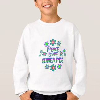 Peace Love Guinea Pigs Sweatshirt