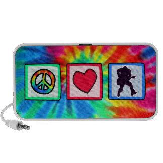 Peace, Love, Guitars Speaker System