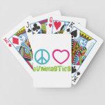 Peace Love Gymnastics Card Decks