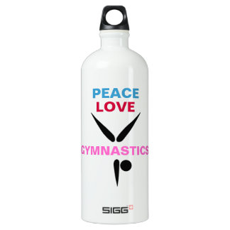 Peace Love Gymnastics Liberty (White) SIGG Traveler 1.0L Water Bottle