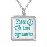 Peace Love Gymnastics Pendants