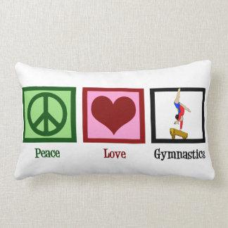 Peace Love Gymnastics Pillow
