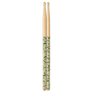 Peace, Love, & Hair Accessories (Turquoise) Drumsticks