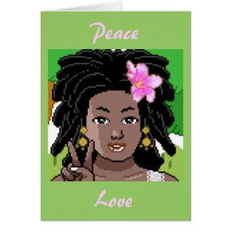 Peace.Love.Hairgrease Card